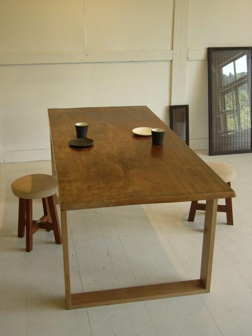 ダイニングテーブル(古材かえで)