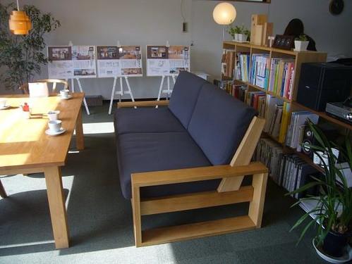 ソファ:熊木建築事務所